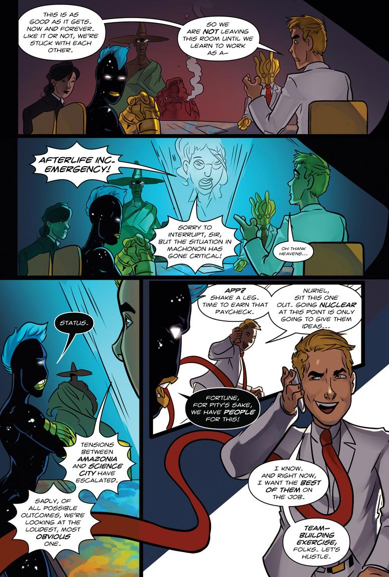 Afterlife Inc. Volume 4: Man Made God Page 37