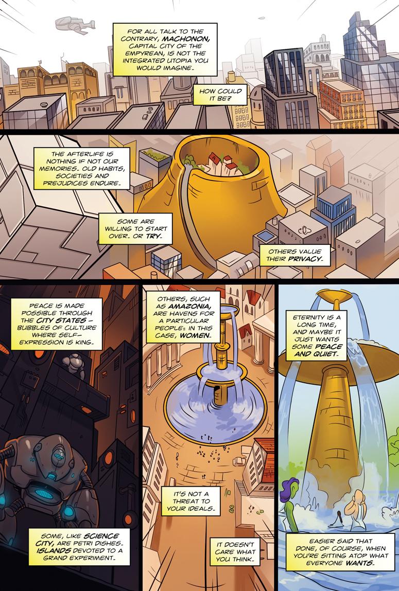Afterlife Inc. Volume 4: Man Made God Page 38