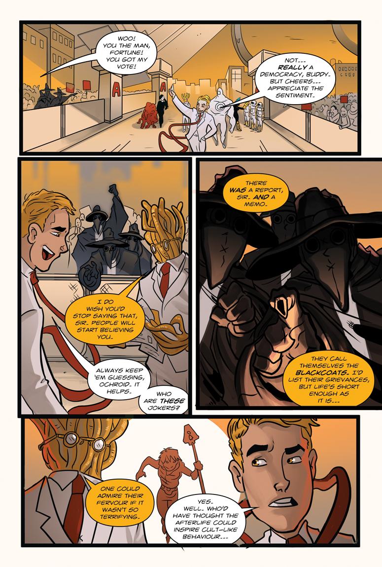 Afterlife Inc. Volume 4: Man Made God Page 39