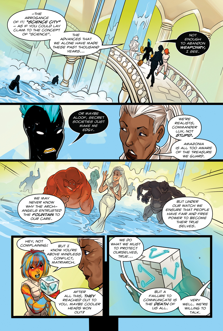 Afterlife Inc. Volume 4: Man Made God Page 41
