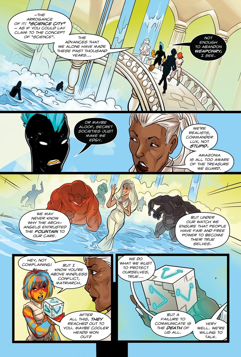 Afterlife Inc. Volume 4: Man Made God Page 41